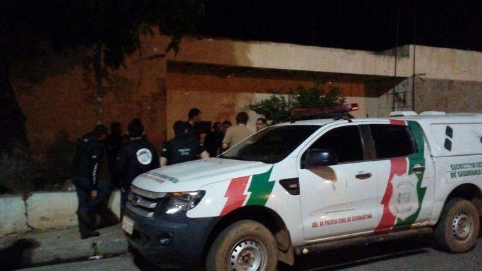 Cinco pessoas foram presas durante a Operação (Crédito: Polícia Civil)