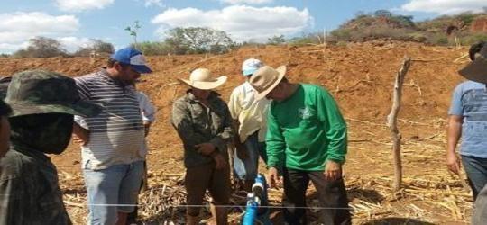 Secretária de Agricultura e SENAR realizam curso de Irrigação