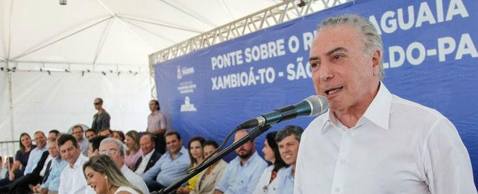 Presidente Michel Temer  (Crédito: Beto Barata/PR)