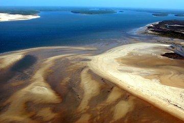 O Delta do Parnaíba tem acesso fácil pela cidade de Parnaíba (Crédito: André Pessoa)