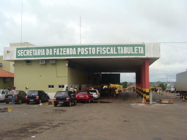 Acidente ocorreu próximo ao Posto Fiscal da Secretaria de Fazenda (Crédito: Sefaz)