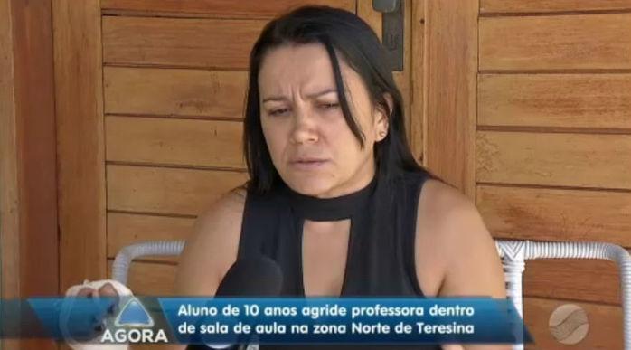 Professora Leila Lopes de Carvalho (Crédito: Rede Meio Norte)