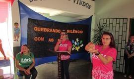 Projeto Quebrando o Silêncio Com as Mãos Aconteceu em Ipiranga