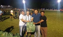 Prefeito João Luiz prestigia abertura da Copa Ampar