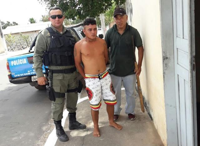 Polícia Militar prende suspeito de tráfico em Bom Princípio