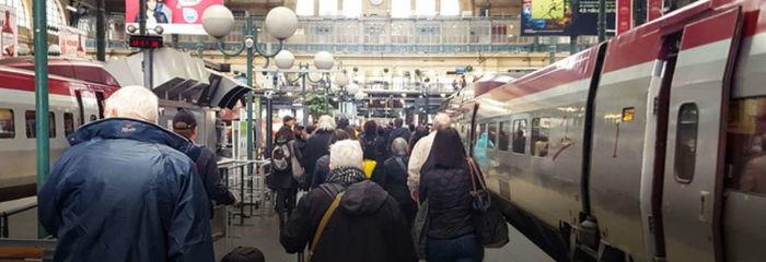 Estação onde as turistas foram atacadas (Crédito: Georgeclerk / iStock)