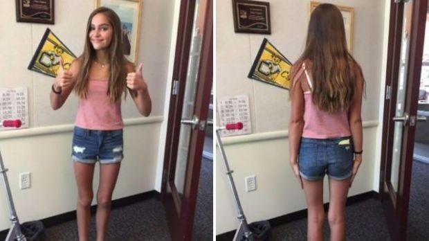 Aluna é mandada para casa por usar roupas que 'distraem meninos' (Crédito: Reprodução)