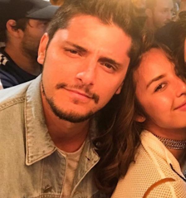 Gissoni com Yanna e o irmão Rodrigo Simas (Crédito: Reprodução/Instagram)