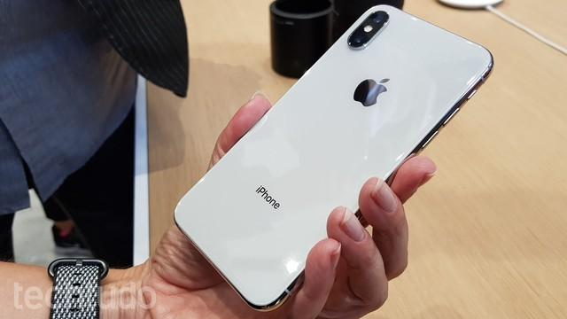 Iphone X (Crédito: Thássius Veloso/TechTudo)