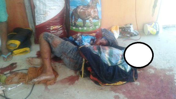 Corpo de homem é encontrado no parque de vaquejada em Luís Correia (Crédito: Reprodução/Portal do Catita)