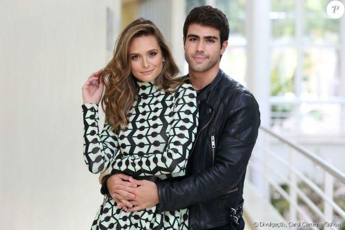 Juliana Paiva e Juliano Laham  (Crédito: Gshow)
