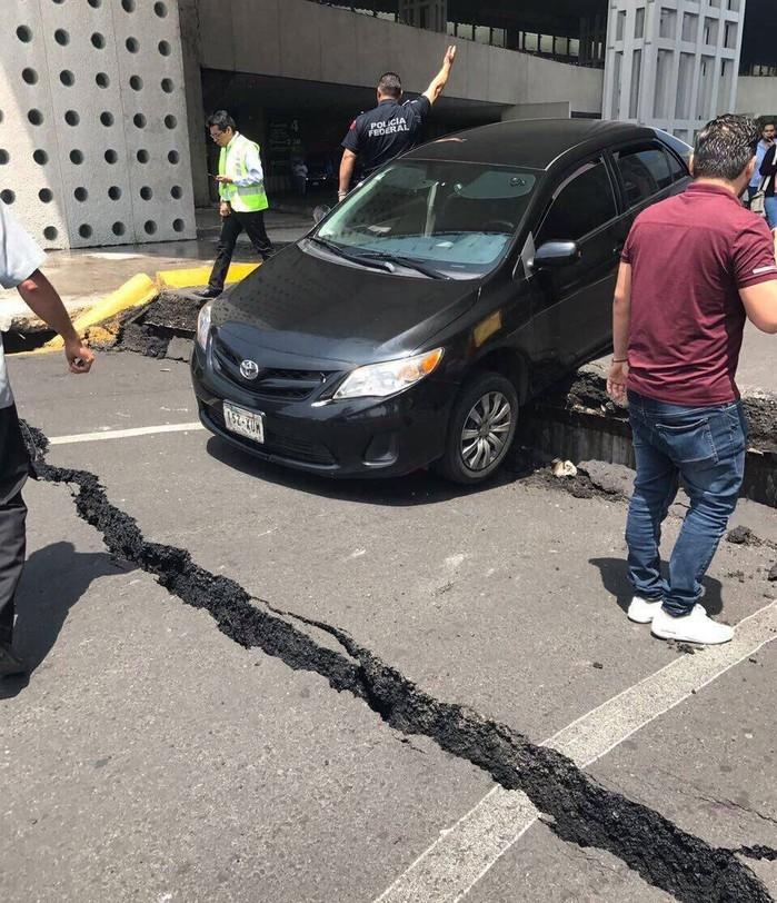 Forte terremoto atinge o México (Crédito: Ronaldo Schemidt/AFP)