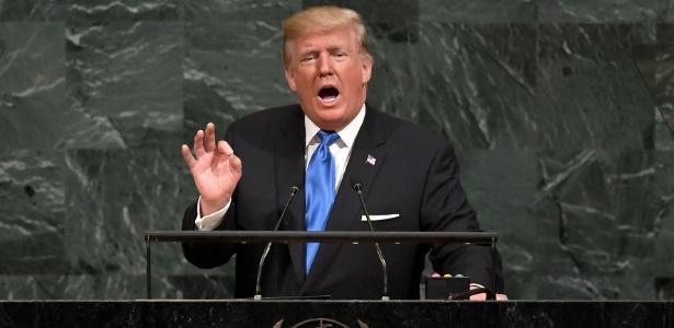 O presidente dos EUA, Donald Trump (Crédito: Timothy Clary/AFP)