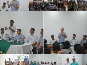 Associação recebe visita do Secretario  Estadual de Cultura