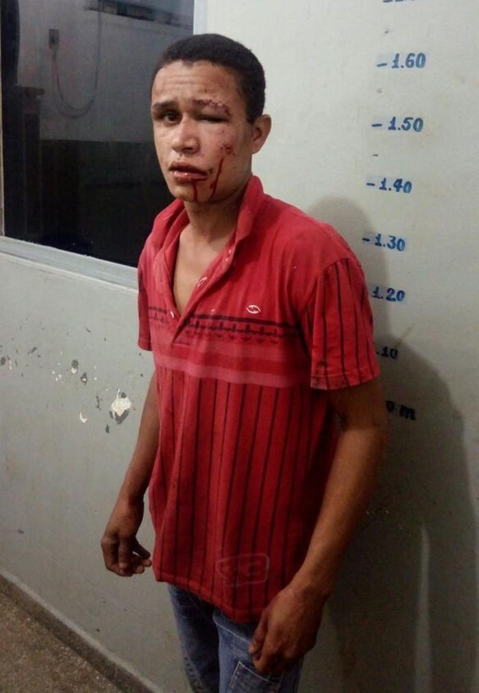 Damião de Jesus Marques foi agredido por mulher ao tentar estuprá-la  (Crédito: Arquivo pessoal)