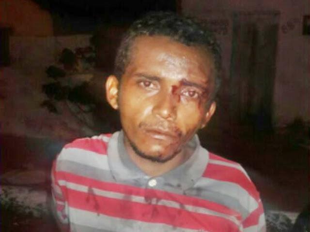 Bandido é espancado após tentar assaltar jovem em Parnaíba (Crédito: Reprodução)