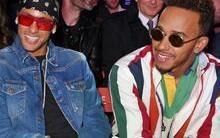 Neymar e Hamilton esbanjam estilo em noitada em Londres