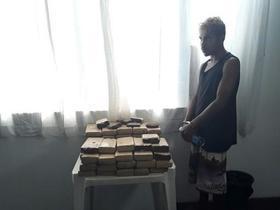 Integrante de facção é preso com 60kg de maconha no Maranhão