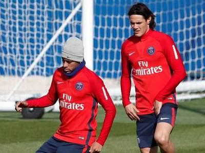 Neymar e Cavani já voltaram a se falar, diz imprensa francesa