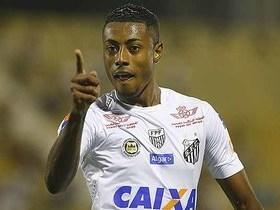 Técnico do Santos critica cusparada de Bruno Henrique