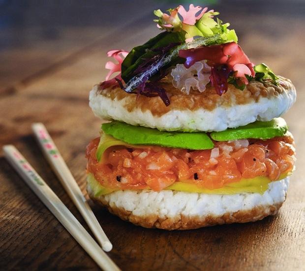 Receita: Sushi Búrguer (Crédito: Reprodução)