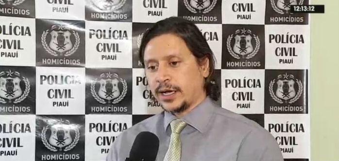 Delegado Igor Martins, da Delegacia de Homicídios (Crédito: Rede Meio Norte)