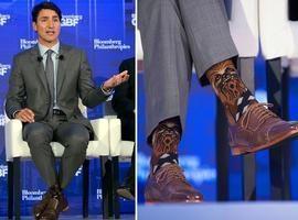 Primeiro-ministro do Canadá faz sucesso ao usar meias do Chewbacca