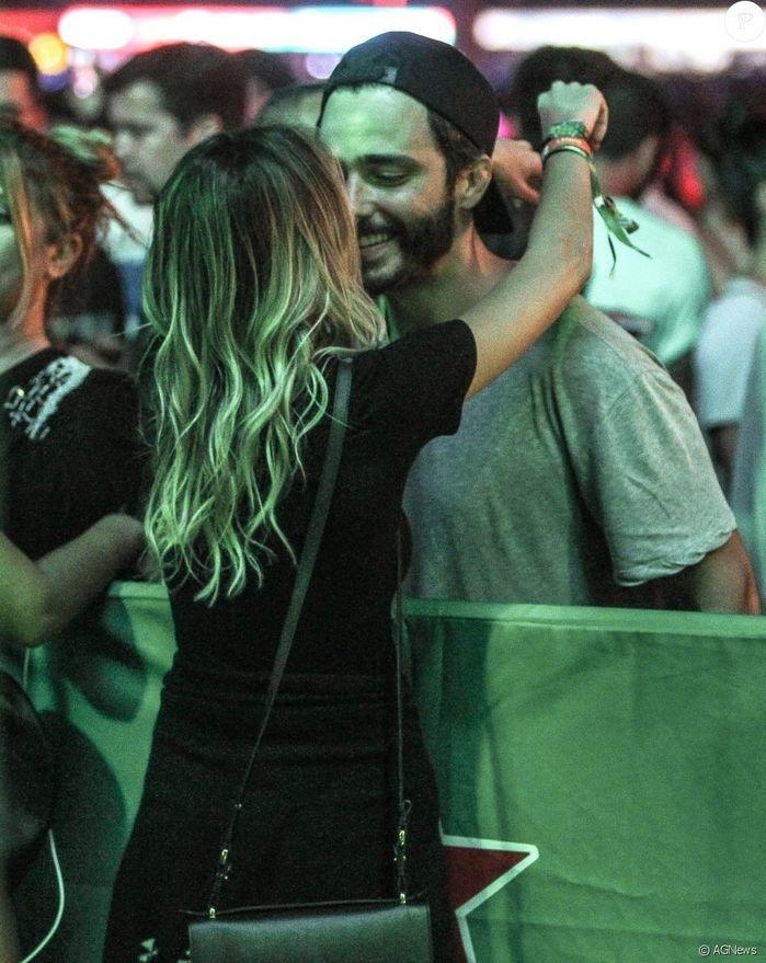 Thiago Rodrigues e Katrin Kenigsberg (Crédito: Agência News)