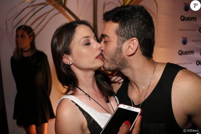 Rosanne Mulholland e Marcos Veras (Crédito: Agência News)