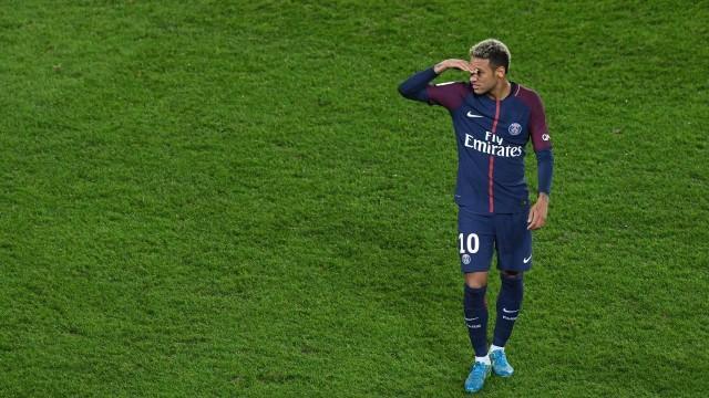 Neymar no PSG (Crédito: AFP)