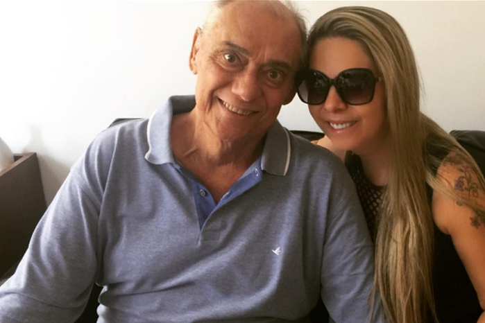 Marcelo Rezende e Luciana (Crédito: Reprodução/Instagram)