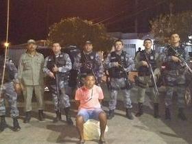 Força Tática de Paulistana prende foragido de Pernambuco