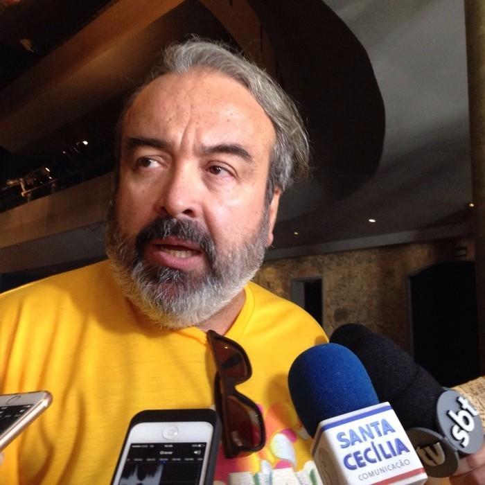 O Secretário de Cultura, Fábio Alexandre Nunes, falou sobre confusão (Crédito: G1)