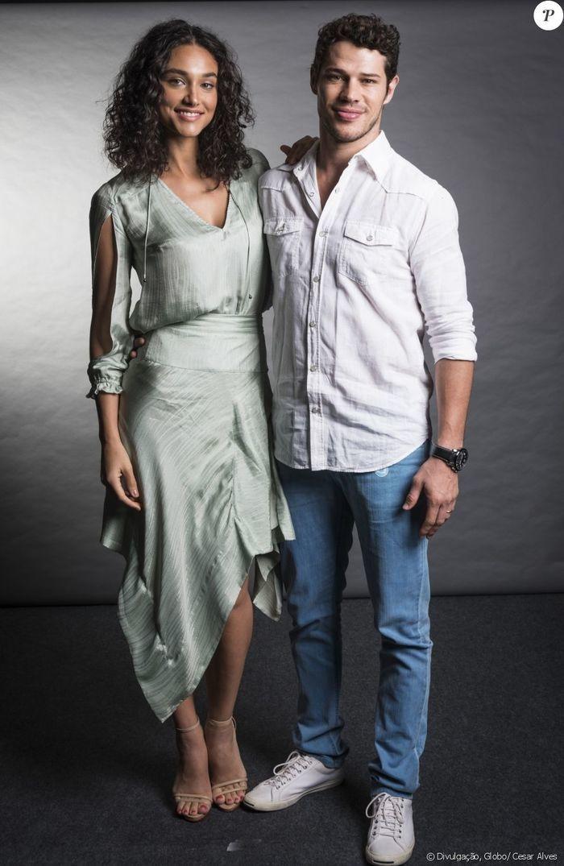Débora Nascimento e José Loreto (Crédito: Reprodução/Purepeople)