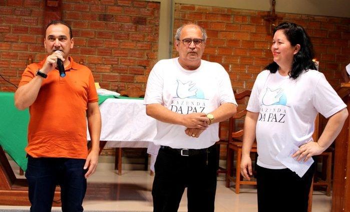 Desembargador Erivan Lopes na Fazenda da Paz (Crédito: TJ-PI)