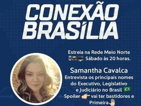 Conexão Brasília estreia e internautas repercutem nas redes sociais