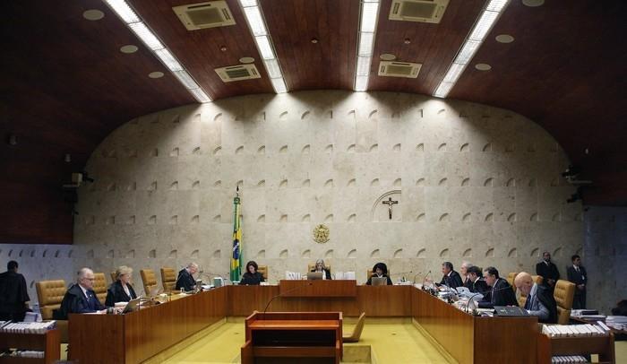 Sessão do STF que julgou ação sobre ensino religioso em escolas públicas (Crédito: Rosinei Coutinho/SCO/STF)