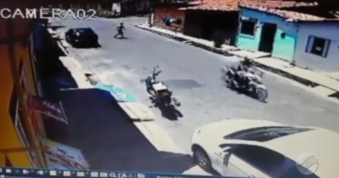 Criminoso está sendo procurado pela polícia (Crédito: Reprodução/TV Meio Norte)
