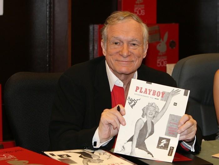 Fundador da revista e editor-chefe, Hugh Hefner, em foto tirada em 2007  (Crédito: AP Photo)