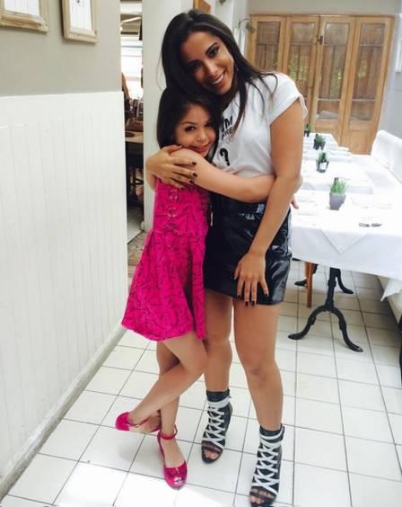 Anitta e Mc Melody se conheceram em um programa de televisão (Crédito: Reprodução/Instagram)