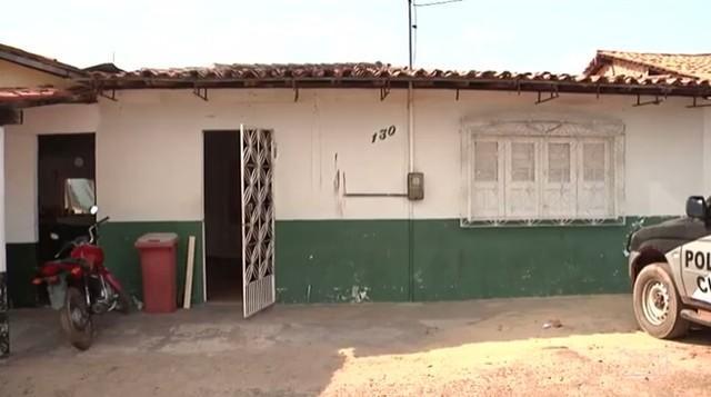 Delegacia de Piritoró funciona em uma casa alugada (Crédito: TV Mirante)
