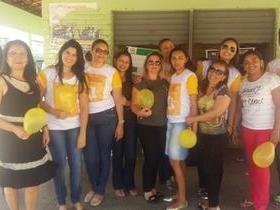 Caminhada contra o suicídio é realizada em Pimenteiras
