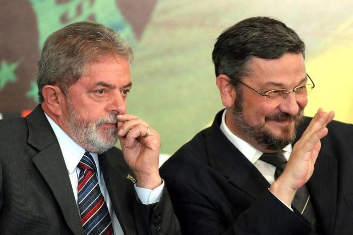 Lula e Antonio Palocci