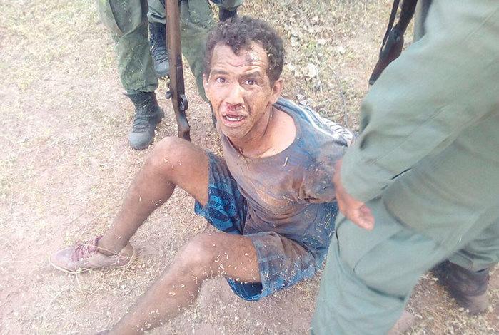Criminoso foi capturado dias depois (Crédito: Reprodução)