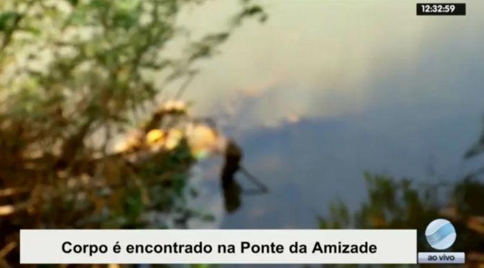Corpo é encontrado nas águas do Rio Parnaíba (Crédito: Rede Meio Norte)