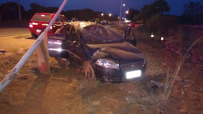 Veículo envolvido no acidente que vitimou o piauiense no Distrito Federal (Crédito: CBMDF)