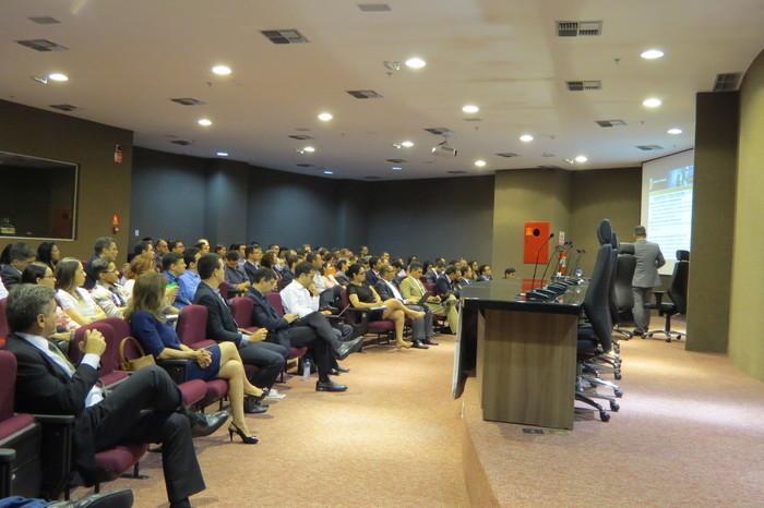 Eevento ocorreu no auditório na sede da Procuradoria da República no Piauí (Crédito: TCE)