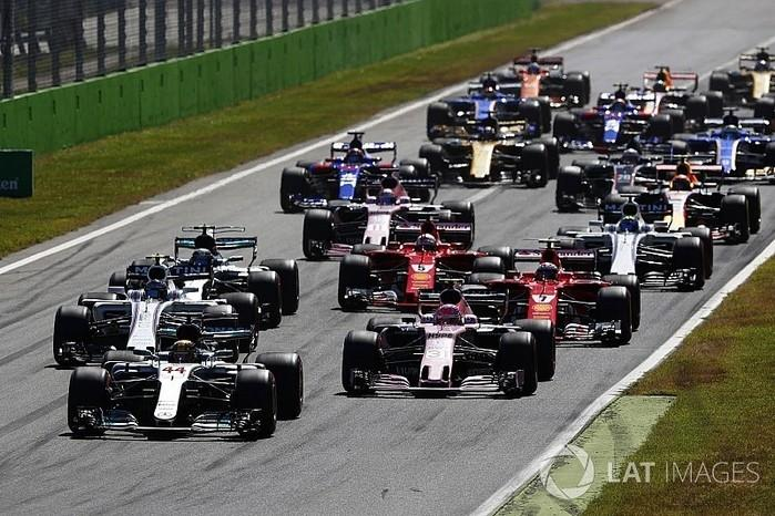 Fórmula 1 no circuito de Monza (Crédito: Lat Images)