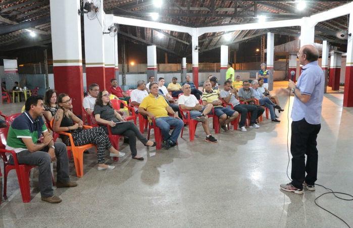 Abertura dos Jogos dos Servidores Municipais (Crédito: Renato Bezerra)