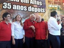 Prefeito participa da caravana do ex-presidente Lula ao Piauí